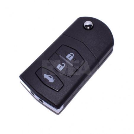 Coque de clé 3 boutons Mazda 2, 3, 5