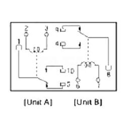 Relais pour la réparation de plusieurs unités EP2B3G1ST