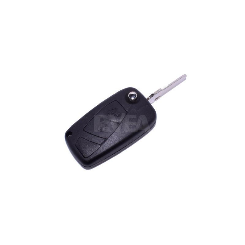 Coque de clé 2 boutons Iveco pile sur le coté CE0678