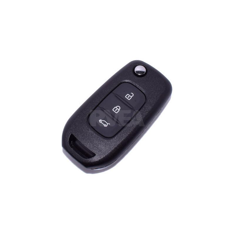 Coque de clé 3 boutons Renault Megane 4, Twingo 3
