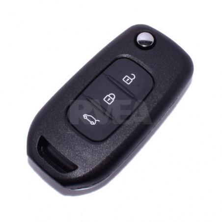 Coque de clé 3 boutons Renault Twingo 3