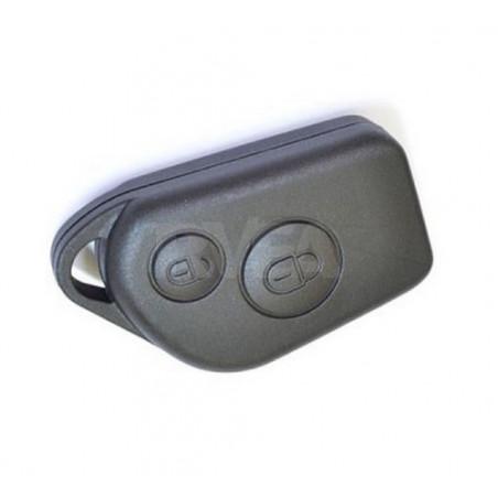 Coque de clé 2 boutons pour Peugeot 106
