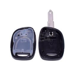 Coque de clé 1 bouton Pile CR1220 Renault Twingo