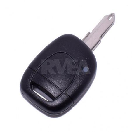 Coque de clé 1 bouton Pile CR2016 Renault Clio