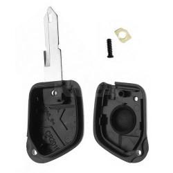 Coque de clé 1 bouton pour Peugeot 106 306 405