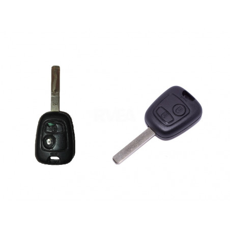 Forfait remplacement coque de clé et bouton toutes marques