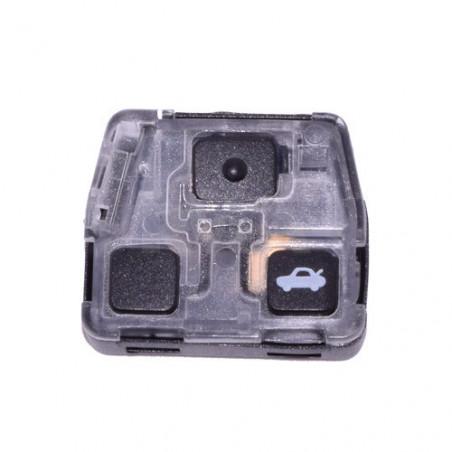 Boitier plastique pour télécommande 2 ou 3 boutons Toyota