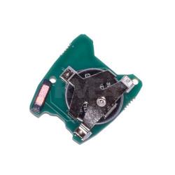 Electronique pour coque de clé 2 boutons Citroën C2, C3, Berlingo