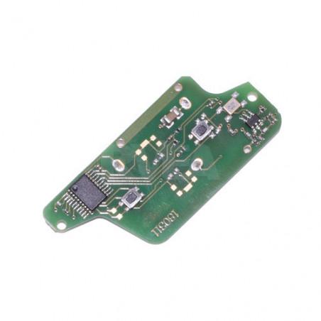 Electronique pour coque de clé 2 boutons Peugeot 207, 307, 308, 807