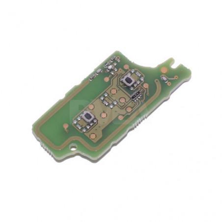 Electronique pour coque de clé 2 boutons Peugeot 308, 3008, 5008