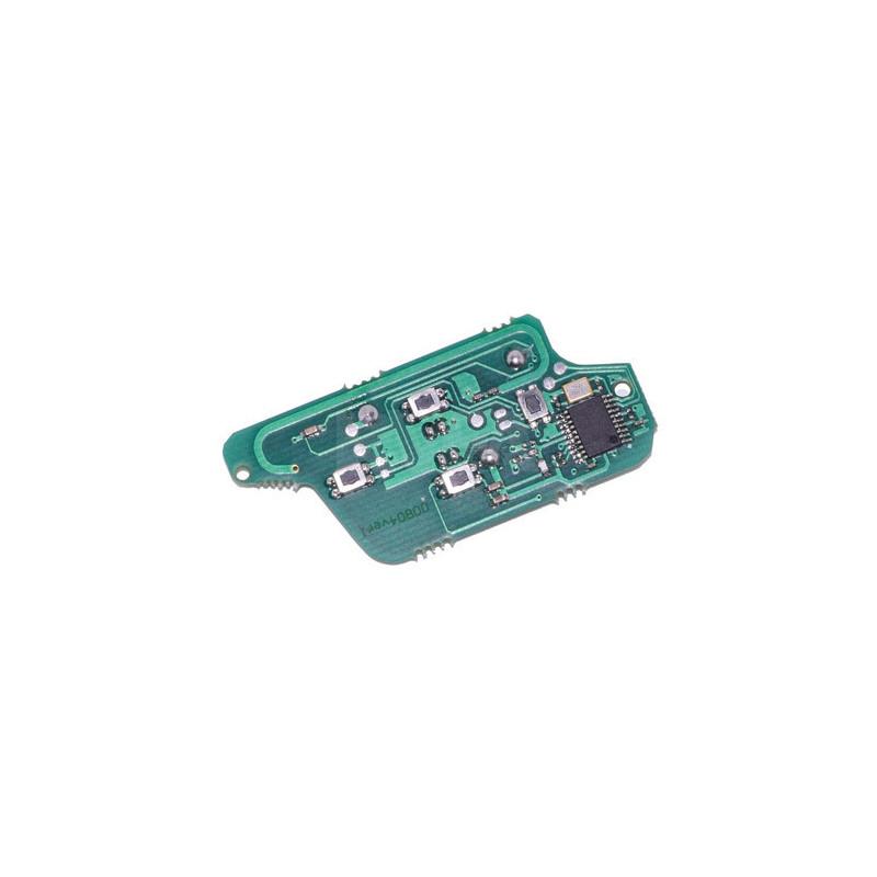 Electronique pour coque de clé 4 boutons Fiat Ulysse