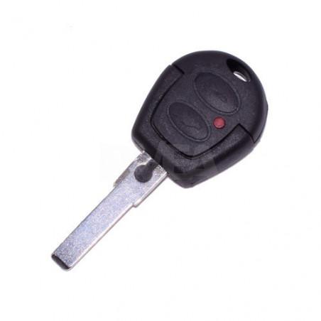 Coque de clé avec électronique 2 boutons Seat