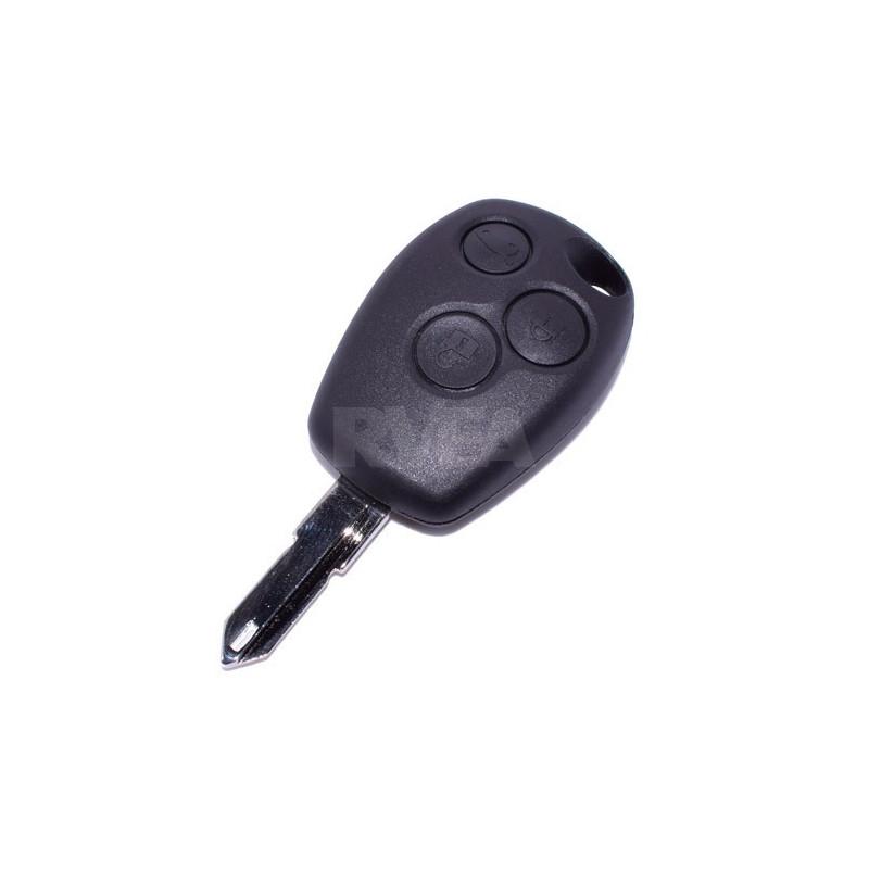 Boitier de clé 3 boutons Dacia Duster, Lodgy