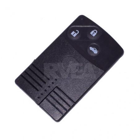 Carte télécommande 3 boutons Mazda 5, Cx-5, Roadster