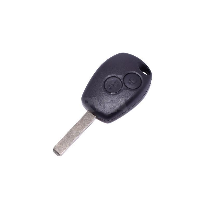 Plip de clé 2 boutons Dacia Logan, Sandero