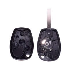 Coque de clé 2 boutons Renault Clio 3, Modus, Wind
