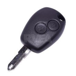 Plip de clé 2 boutons Renault Clio 2, Kangoo, Master, Modus, Twingo, Wind