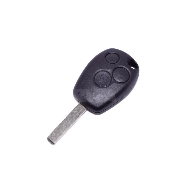 Plip de clé 3 boutons Renault Clio 3, Kangoo, Master, Modus, Trafic
