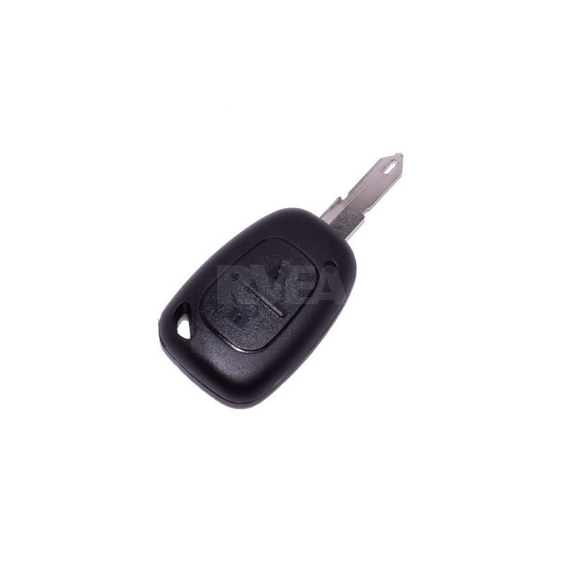 Coque de clé 2 boutons Renault Kangoo, Master, Trafic