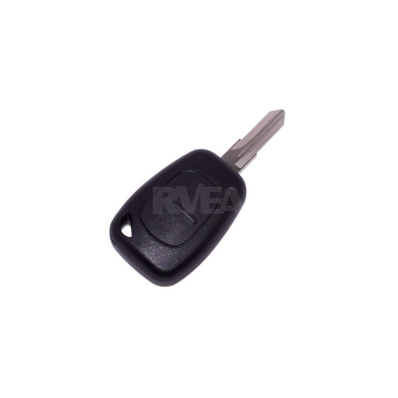 Plip de clé 2 boutons Renault Kangoo, Master, Trafic