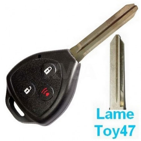 Coque de clé 3 boutons pour Lexus