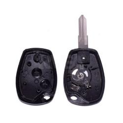 Boitier de clé 2 boutons Dacia Duster, Logan, Sandero