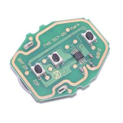 Electronique pour coque de clé 3 boutons BMW Serie 3, 5