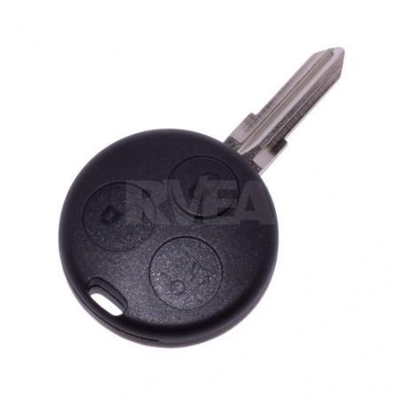 Coque de clé 3 boutons Smart Fortwo