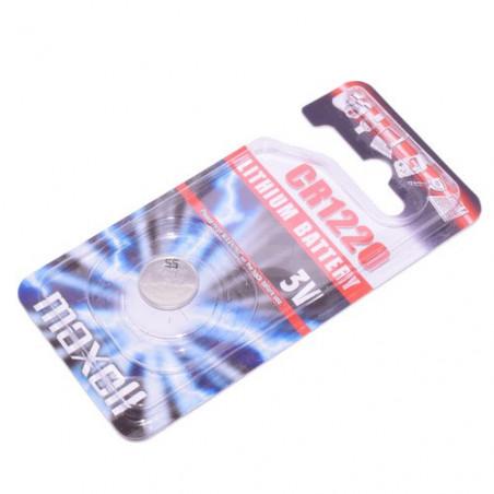 Pile bouton CR1220 lithium 3V