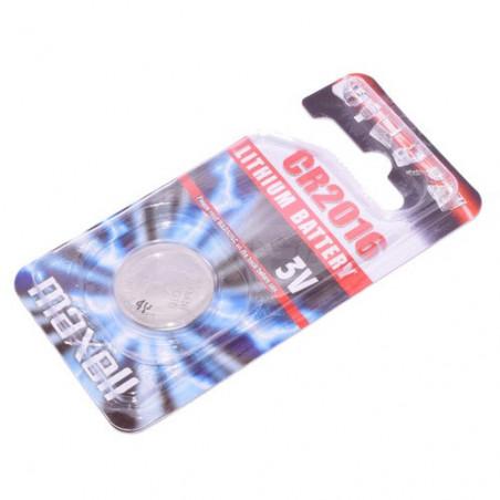 Pile bouton CR2016 lithium 3V