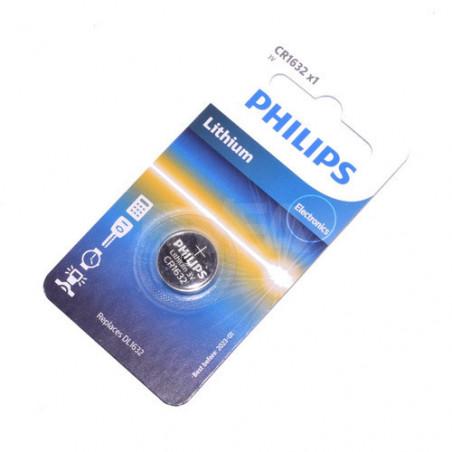 Pile bouton CR1632 lithium 3V